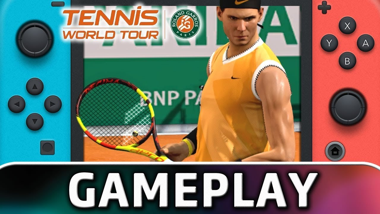 Tennis World Tour: Roland-Garros Edition | First 10 Minutes on Nintendo Switch