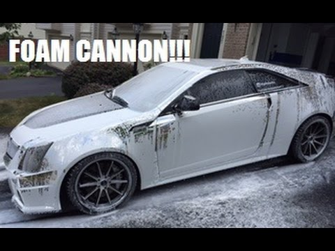 How to properly wash a car! Chemical guys Foam Cannon!