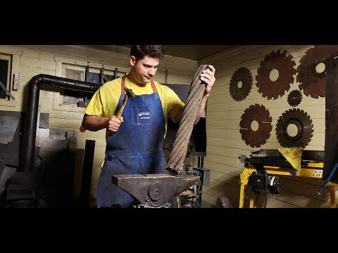 Blacksmithing - How To Do Cable Damascus (how I Do It)