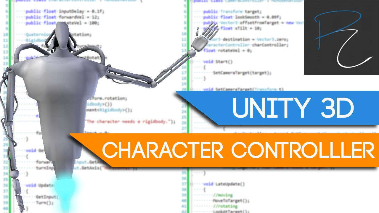Unity3D Character Controller in 20 Minutes