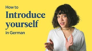 How To Introduce Youŗself In German   German In 60 Seconds