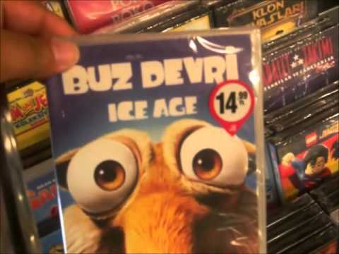 Shopping Tour - DVD/Games D&R/MM Izmir 2015