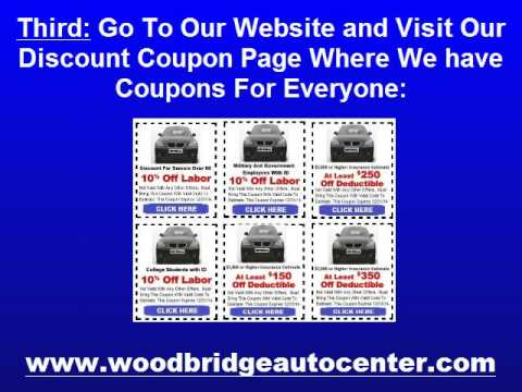 Car Body Shop Woodbridge Va   FREE Consumer Auto Body Repair Book!
