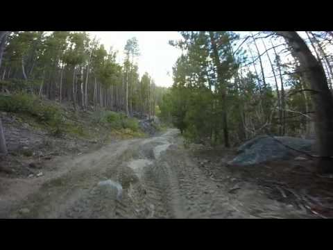 AJ's and Jessica's Adventure from the top of Butte to Delmoe Lake at Homestake Pass