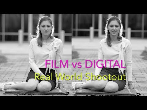 Film Vs Digital - Mamiya 6x7 Vs Nikon FF - Real World Shootout