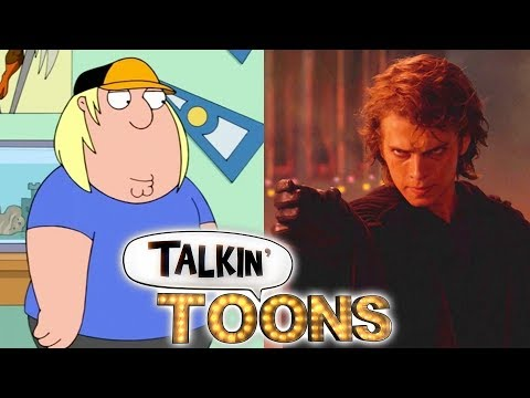 Seth Green Does a Prequel Star Wars Family Guy Mashup! Talkin' Toons w Rob Paulsen