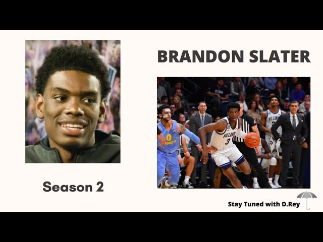 VILLANOVA GUARD, BRANDON SLATER(pt.2) on Stay Tuned with D.Rey