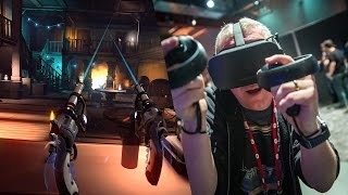 Hands-On: Dead & Buried with Oculus Touch!