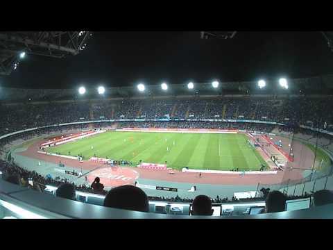 Napoli-Fiorentina, il San Paolo al 2-0 di Insigne (20-05-2017)