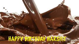 Harshit  Chocolate - Happy Birthday