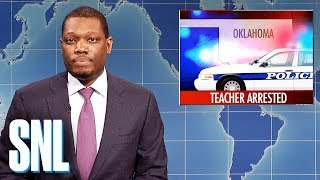 Weekend Update on Oklahoma Teacher's Arrest - SNL