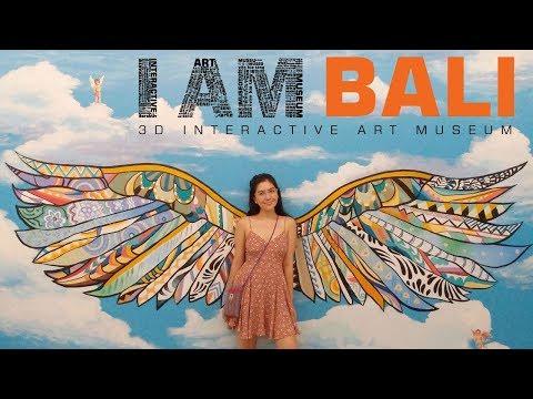 I am bali 3d museum & Upside down zone