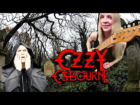 OZZY OSBOURNE - Under the graveyard - Cover [MULTICAMERA Collab w/Annika Jaschke]