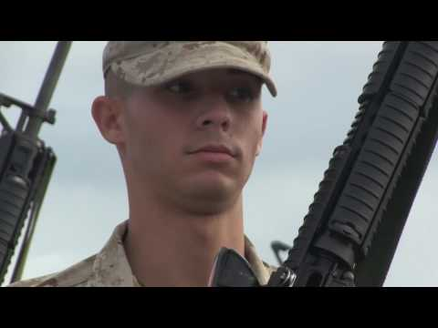 Marine Kilo Company Recruits Final Drill