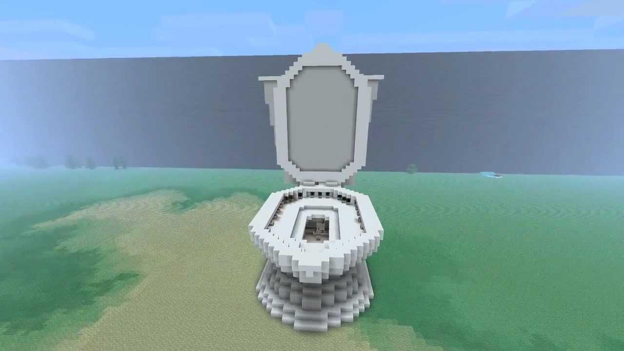 Minecraft Map Giant Minecraft Toilet That Flushes Free Download Minecra