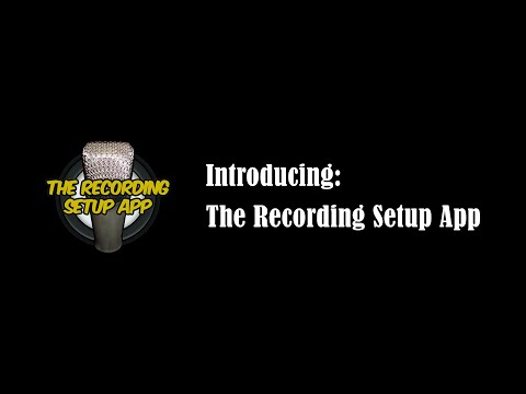 Introducing: The Recording Setup App – The virtual assistant of audio engineers