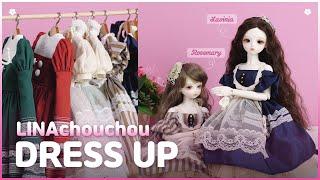 BJD Doll Outfits Dress Up 구체관절…