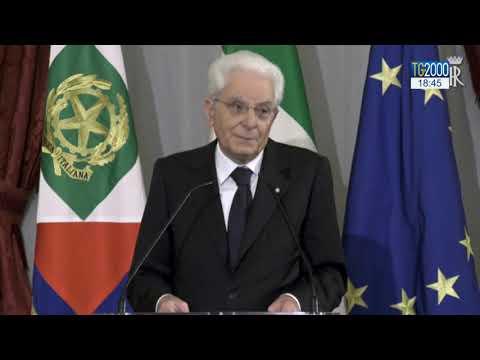 Mattarella omaggia Cossiga 'il picconatore'. E replica alle parole del premier Johnson