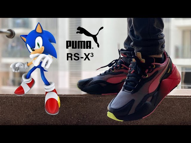 Puma RS X3 Sonic Unboxing + Onfeet - YouTube