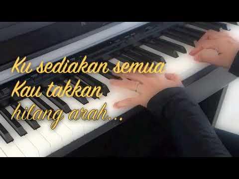 Menang~~ Faizal Tahir~~ Piano Cover by Afeeffatini.