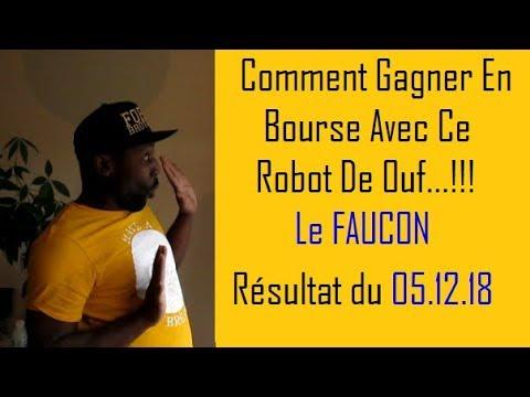 COMMENT GAGNER EN BOURSE   ROBOT DE TRADING 🤖   Le Faucon   05 12 18