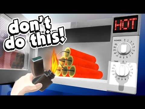 HOW TO MICROWAVE FIREWORKS - Hotel R'N'R