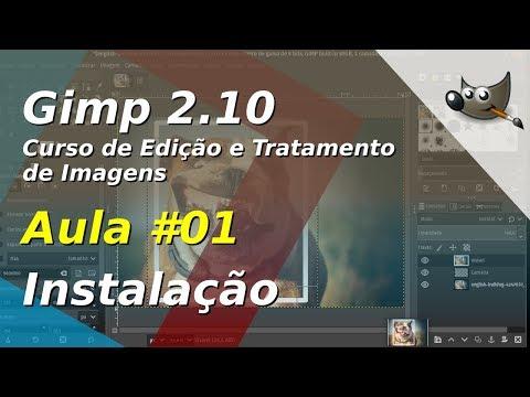 Curso de Edição e Tratamento de Imagens com o Gimp - Aula 01 - Instalação thumbnail