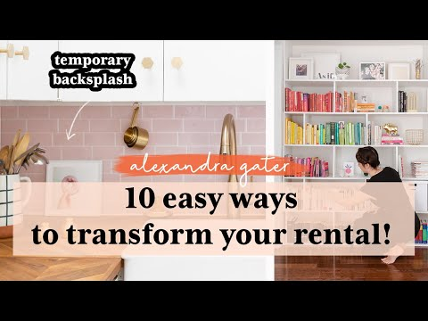 How I Upgraded My Rental Apartment (Before& Afters!) from YouTube · Duration:  17 minutes