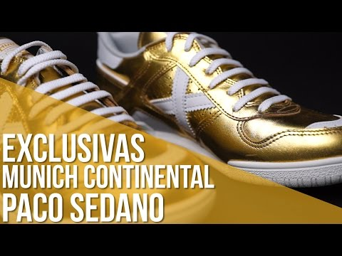 Review Munich Continental // Exclusiva Paco Sedano Gold White