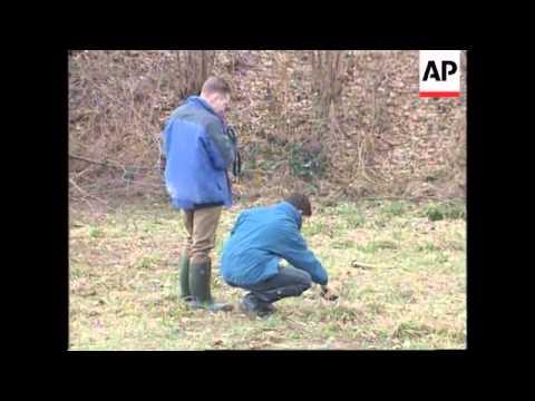 Bosnia - War Crimes Investigators Search Site