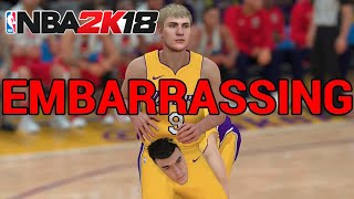 Such a Disgrace | NBA 2K18 Review