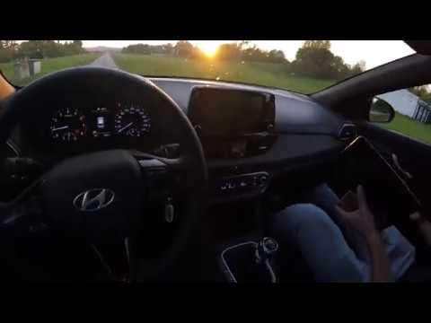 2019 Hyundai i30 N-Line - POV start-up, sound, revs, test drive