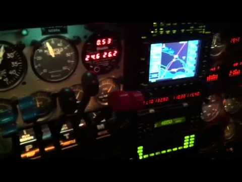 Flying a Beechcraft Baron 58P through ice