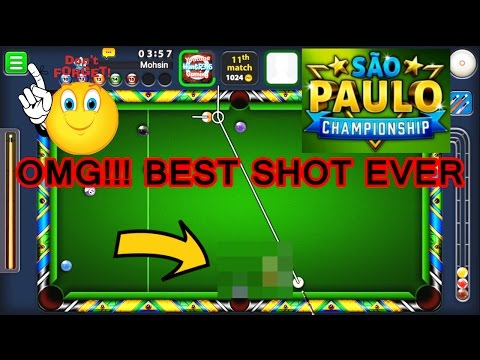 8 Ball Pool - How To Win SAO PAULO CHAMPIONSHIP RING | TIPS/TRICKS (INSANE LUCK)