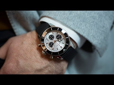 c2cab4b66e08 First Take  The Breitling Superocean Heritage II B01 Chronograph 44 -  YouTube