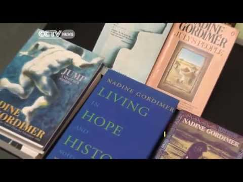 Tribute To South African Author Nadine Gordimer