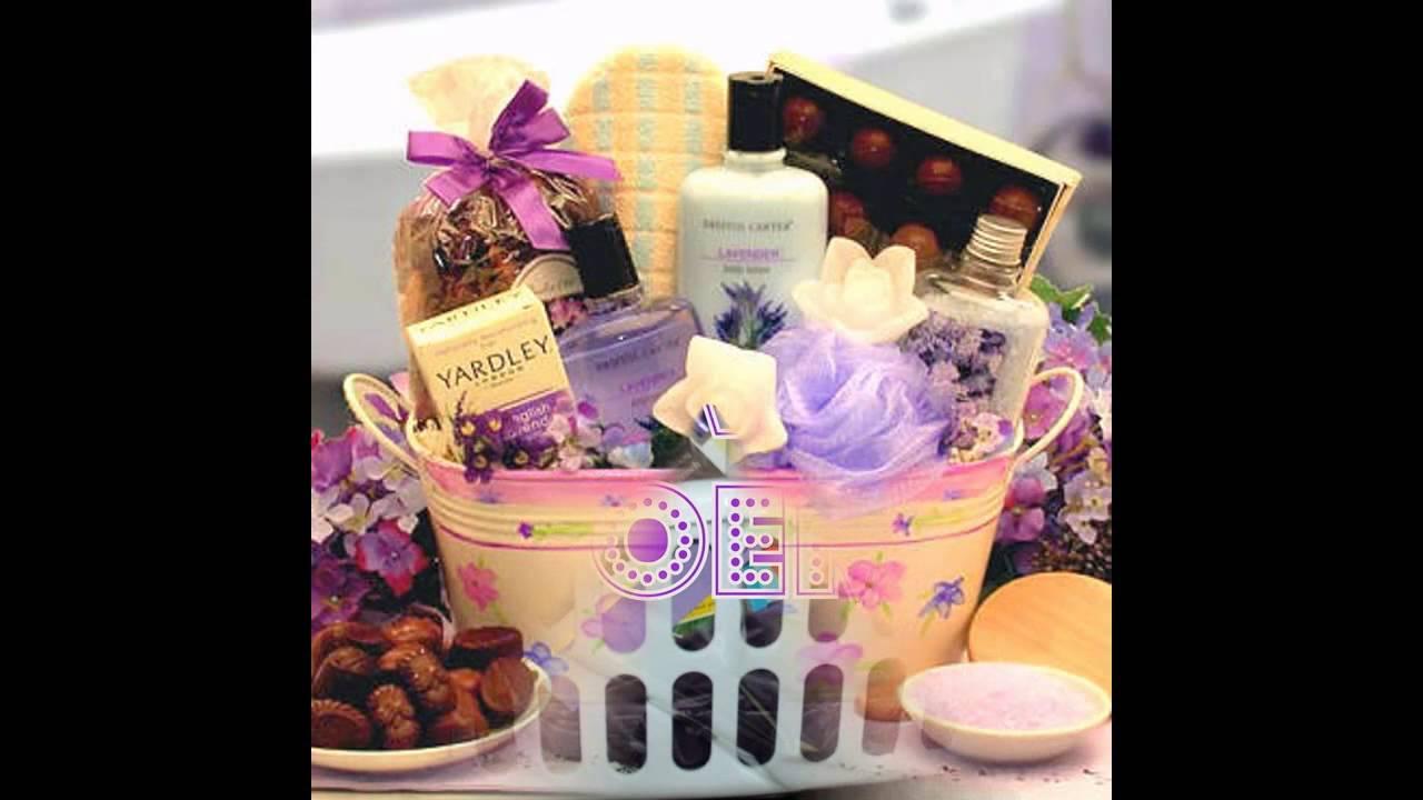 Easy Wedding Shower Gift Basket Ideas