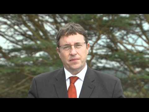 UNEP Director Achim Steiner speaking about the Organic Alternative for Africa