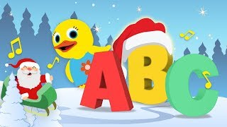 Christmas Special Song   ABC Songs for Kids   Alphabet Song & Vocabulary   Learning by ABC Fun