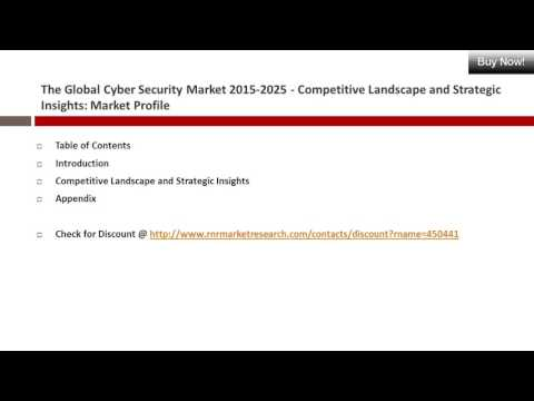 Cyber Security Market Competitive Landscape and Strategic Insights Report to 2025