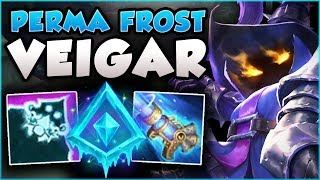 WTF! ACHIEVE 100% SKILL SHOT ACCURACY WITH PERMAFROST VEIGAR! VEIGAR TOP GAMEPLAY! League of Legends