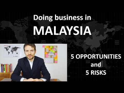 Doing business in MALAYSIA: 5 opportunities and 5 risks by Globartis