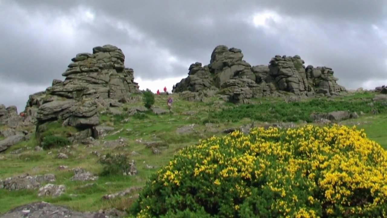 Dartmoor National Park Views Hound Tor Youtube