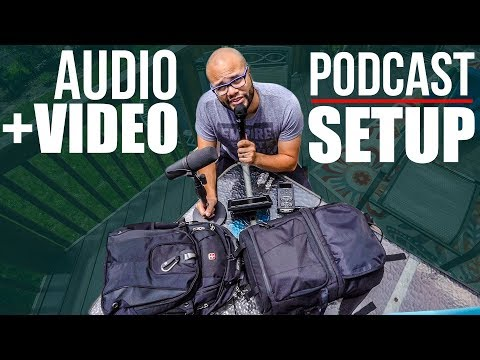 Video And Audio Gear For Podcasting - My Equipment After One Year Of Testing