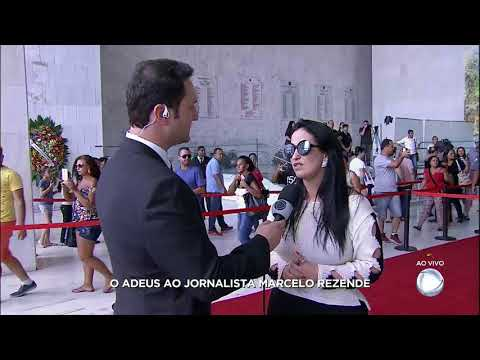 Fabíola Gadelha relembra carinho que Rezende sempre tratou seus repórteres