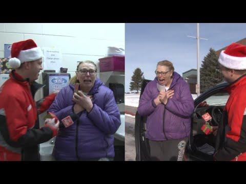 Sylvia Chacon - Secret Santa Gives School Lunch Lady A New Car