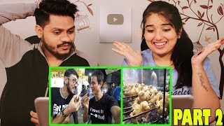 International Food Blogger Mark Wines Exploring Lahore Street Food | Indian Reaction