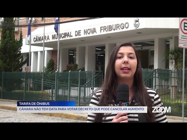 20-08-2019 - CÂMARA NÃO TEM DATA PARA VOTAR DECRETO QUE PODE CANCELAR AUMENTO - ZOOM TV JORNAL