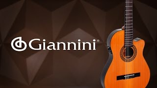 Giannini | Review do violão CDR-PRO THIN CEQ