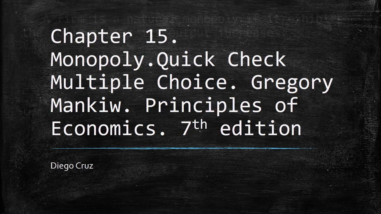 principles of economics multiple choice Marketing principles mcqs: multiple choice questions and answers (quiz & tests with answer keys) ebook: arshad iqbal: amazonin: kindle store.